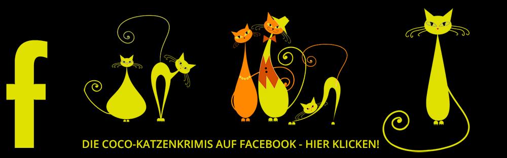 Mehr über mich und die Coco-KatzenKrimis auf Facebook: www.facebook.com/katzenkrimi